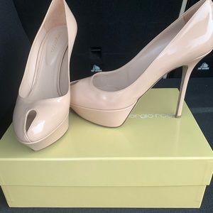 Designer women shoes; worn once;